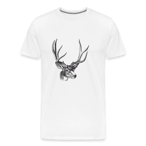 Vintage Deer - Men's Premium T-Shirt