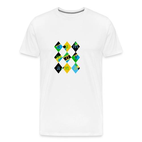SamMoyana Tanzania - Men's Premium T-Shirt