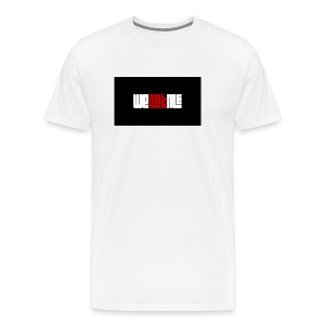 WE NOT ME CLASSIC LOGO - Men's Premium T-Shirt