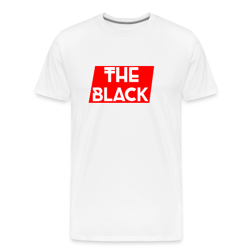 The Black Logo [Red Supreme Look] - Men's Premium T-Shirt