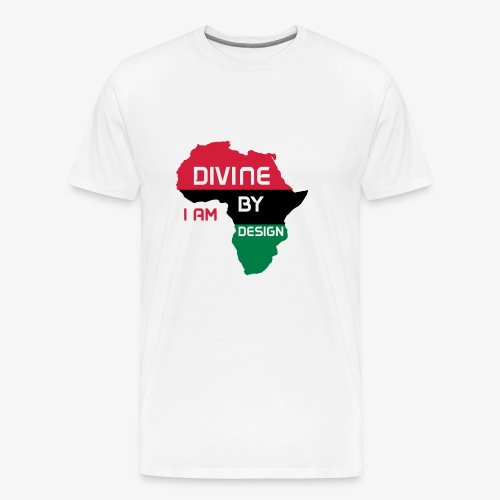 I Am Divine By Design - Men's Premium T-Shirt