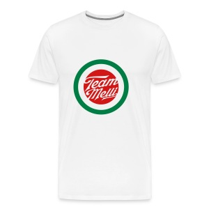 TEAM MELLI RETRO BADGE - Men's Premium T-Shirt