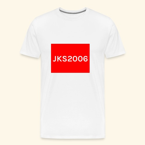 JKS2006 boxed logo - Men's Premium T-Shirt