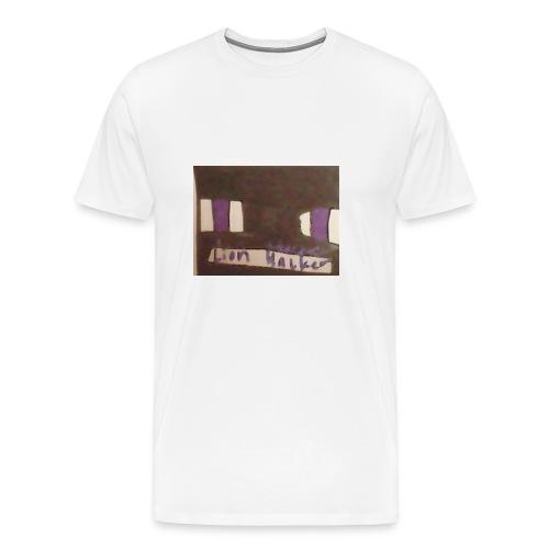 Lion haker t-shirt - Men's Premium T-Shirt