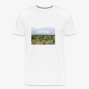 chad vlogs - Men's Premium T-Shirt