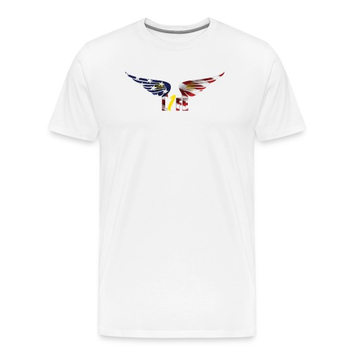 Patriotic1LifeLogo - Men's Premium T-Shirt
