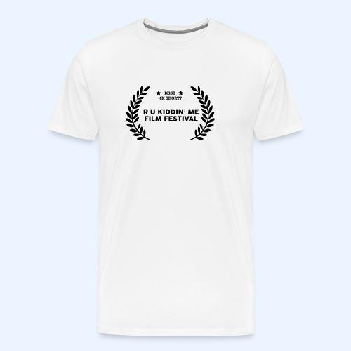 Film Festival Winner : Best 4K Short - Men's Premium T-Shirt