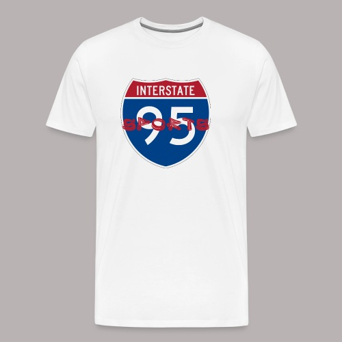 I-95 Sports Podcast Logo - Men's Premium T-Shirt