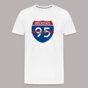I-95 Sports Podcast Logo - Men's Premium T-Shirt