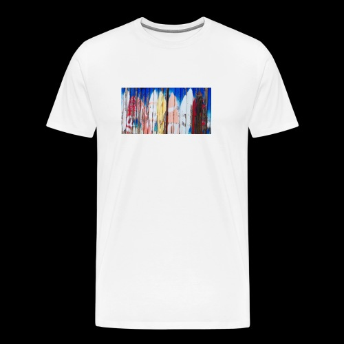 surfing dreams - Men's Premium T-Shirt