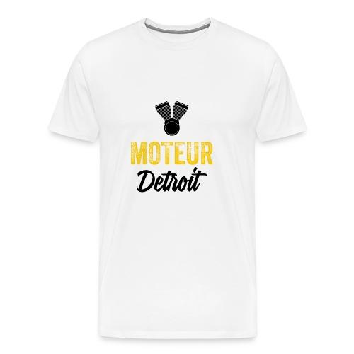 Moteur Detroit Yellow Jacket Varsity Jacket - Men's Premium T-Shirt