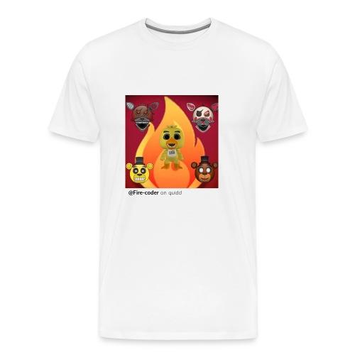 Firecoder Plays - Men's Premium T-Shirt
