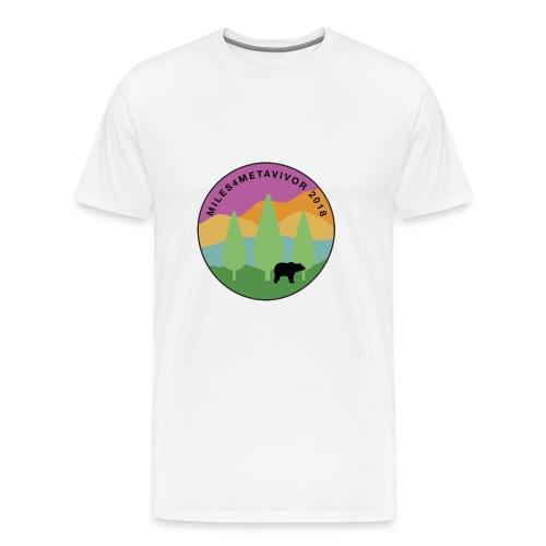 Miles4Metavivor 2018 - Men's Premium T-Shirt