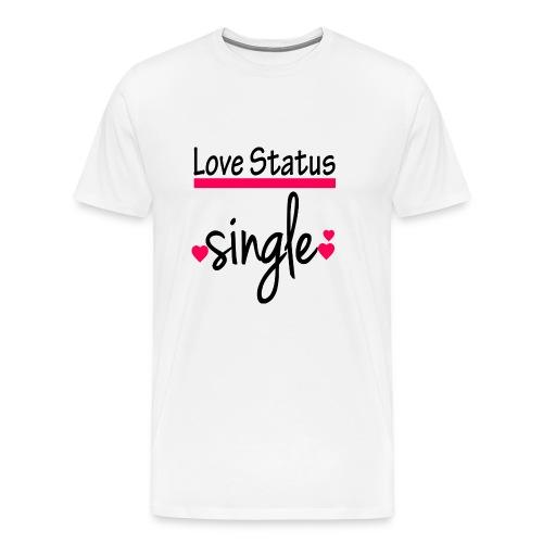 Love Status tee - Men's Premium T-Shirt