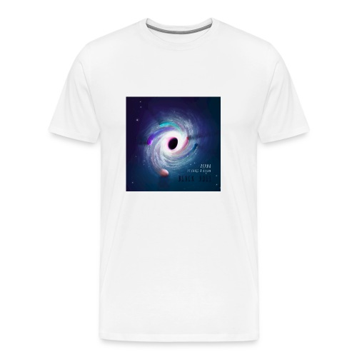 Black Hole Cover Art Design - Men's Premium T-Shirt