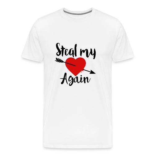 Steal my Heart tee - Men's Premium T-Shirt