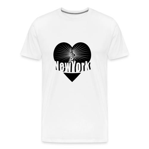 New York in Love - Men's Premium T-Shirt