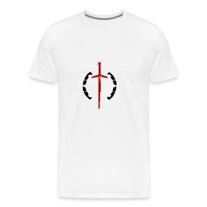 Faction Sword Logo V2 - Men's Premium T-Shirt