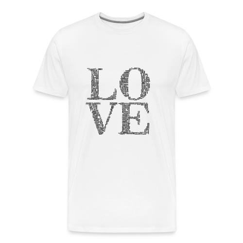 Love is everywhere - Men's Premium T-Shirt