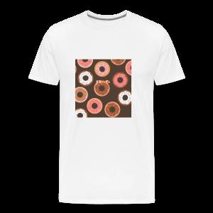 BISMUTH doughnut design multi-color - Men's Premium T-Shirt