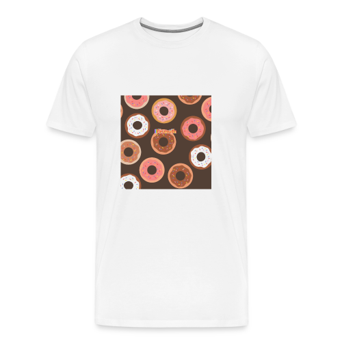 BISMUTH doughnut design multi-color - Men's Premium T-Shirt