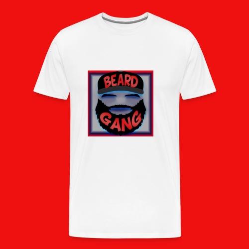 Beard Gang Line - Men's Premium T-Shirt