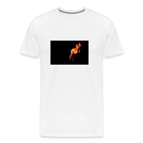 la flame - Men's Premium T-Shirt