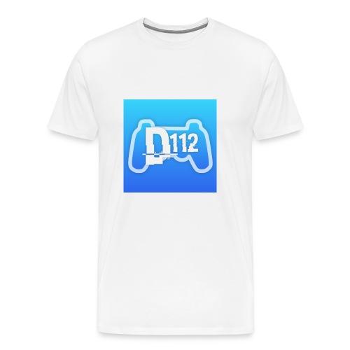 D112gaming logo - Men's Premium T-Shirt