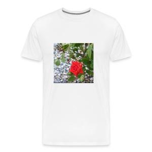 Small Rose - Men's Premium T-Shirt