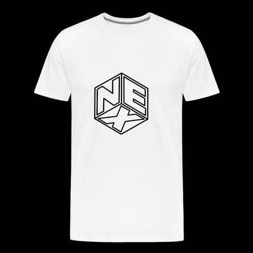 Nexagonal Logo (White_ - Men's Premium T-Shirt