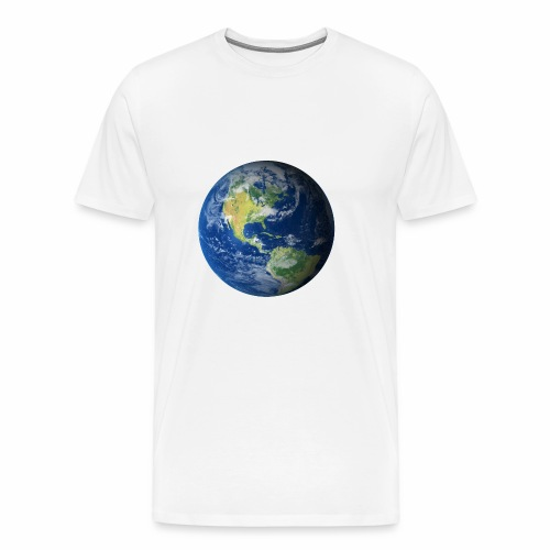 Get On Our Planet Gym Apparel - Men's Premium T-Shirt