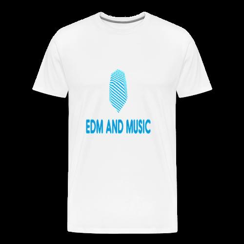 EDM and MUSIC - Men's Premium T-Shirt