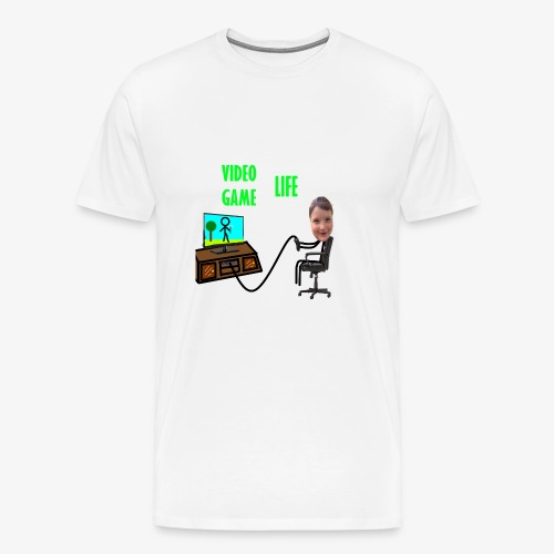 VideoGameLife - Men's Premium T-Shirt