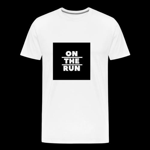 On The Run Classic Design - Men's Premium T-Shirt
