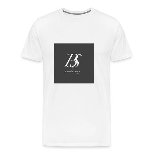 brandon savage vlogs - Men's Premium T-Shirt