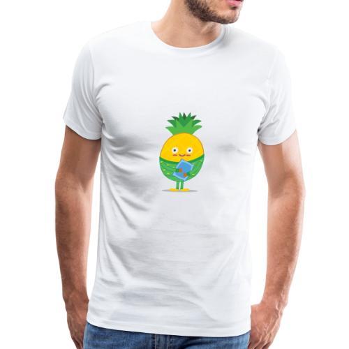 Sleepy Pineapple - Men's Premium T-Shirt