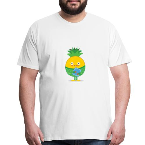 Sleepy Pineapple - Men's Premium T-Shirt