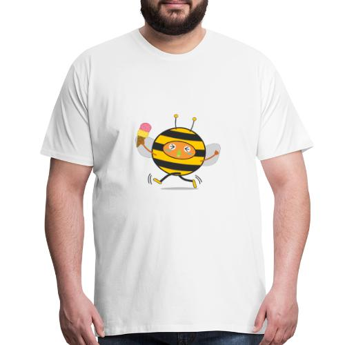 Bees and ice cream - Men's Premium T-Shirt