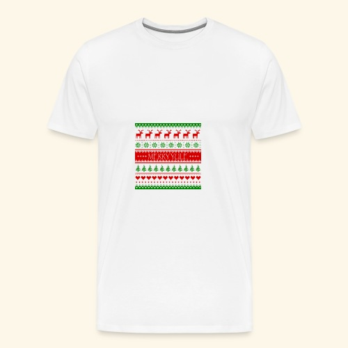 merry yule - Men's Premium T-Shirt