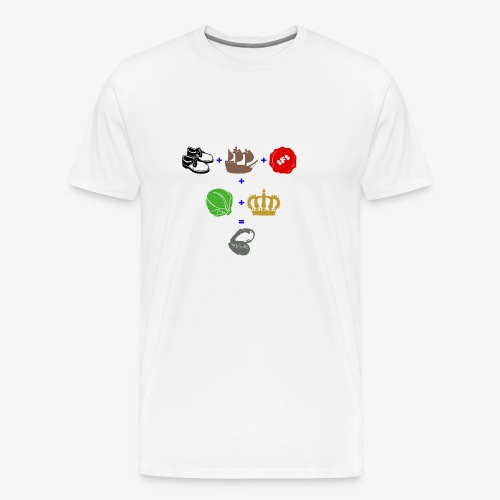 walrus and the carpenter - Men's Premium T-Shirt
