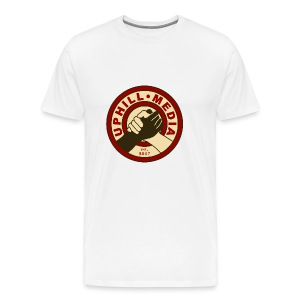Uphill Media Logo - Men's Premium T-Shirt