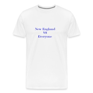 new england vs everyone light shirt - Men's Premium T-Shirt