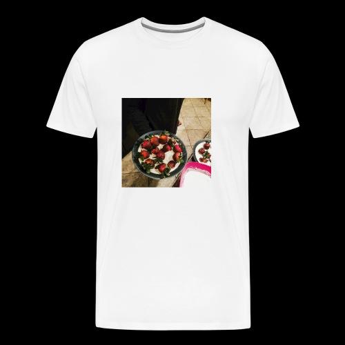 V-Day from Cakez Zauce - Men's Premium T-Shirt