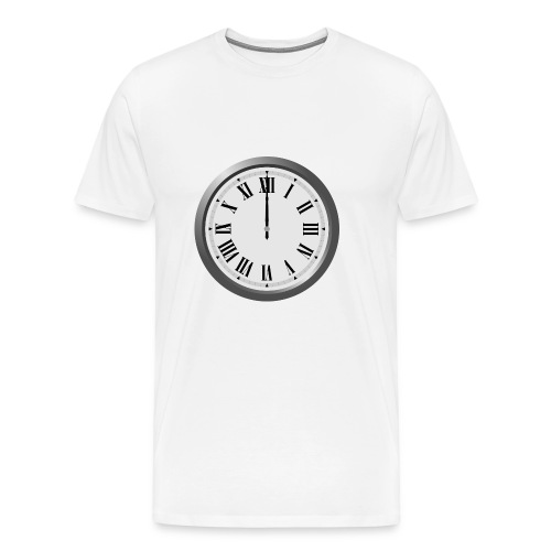 Time Flies When You Watch Team Google Plex - Men's Premium T-Shirt