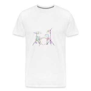 Drum Set - Men's Premium T-Shirt