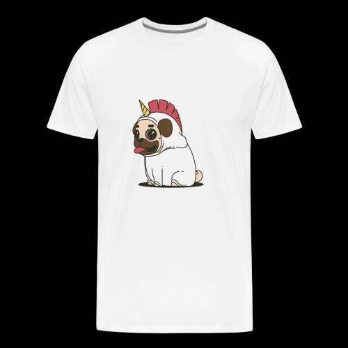 Pug Unicorn - Men's Premium T-Shirt
