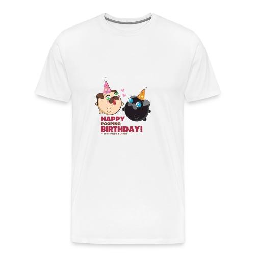 Poopie And Doopie Birthday! - Men's Premium T-Shirt