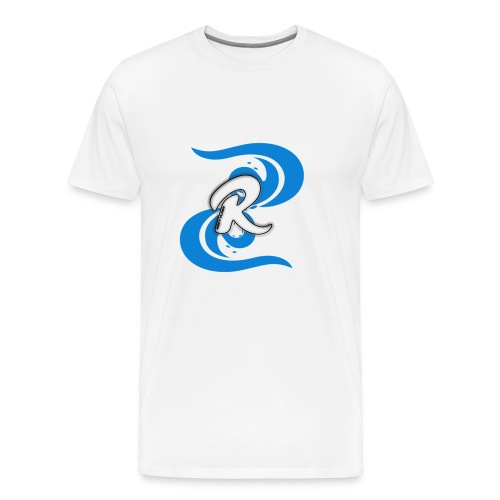 Icey Blue R3KT Vlogs Design - Men's Premium T-Shirt