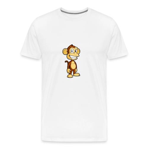 Cartoon monkey - Men's Premium T-Shirt