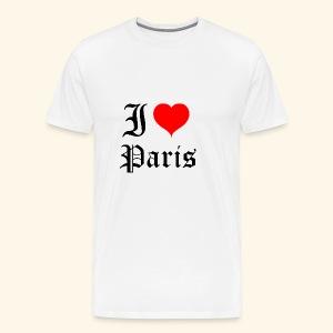 I love Paris - Men's Premium T-Shirt